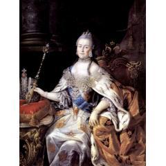 Портрет Екатерины 2, у императрицы среди прочей обуви были и валенки для балов