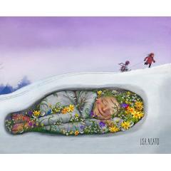 Спящая весна от норвежского иллюстратора Lisa Aisato
